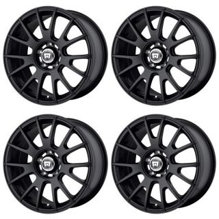 Motegi Racing MR118 MR11878056745 Rims Set of 4 17x8 45mm Offset 5x112 M Black