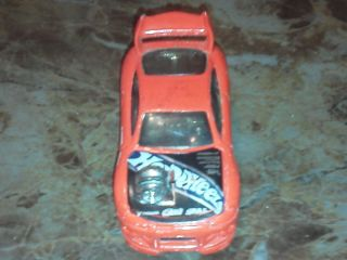 Hot Wheels 2002 Mitsubishi Eclipse Made in Malaysia