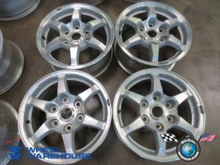 Four 01 02 Mitsubishi Montero Factory 16 Wheels Rims 65776