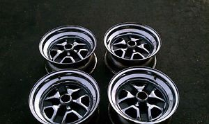 "Olds 442 Cutlass SS2 Chrome Rally Wheels 15""x7"" Set of Four Rims Hurst Olds"