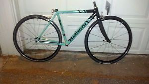 Bianchi San Lorenzo 49 Aluminum Frame and Wheels Light Bike