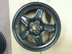 "Chevrolet Malibu Pontiac G6 Saturn Aura 17x7"" Black Steel Factory Wheel Rim 8075"