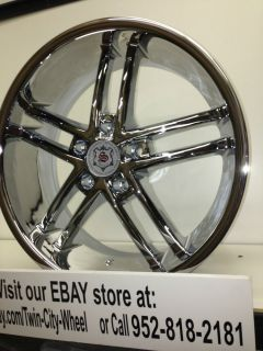 18 inch Chrome Sevizia Wheels Rims Mitsubishi Eclipse galant Lancer Endeavor 18""