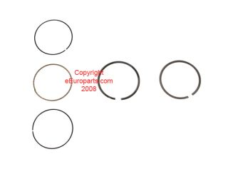 New Genuine Saab Piston Ring Set Std 55557263