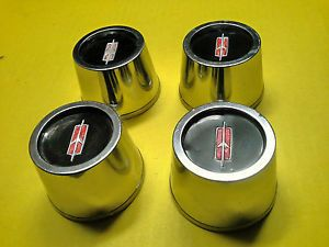 4 Olds SS1 Rally Wheel Center Caps 64 72 Cutlass 442 Hurst Olds F85 W30 W31