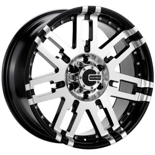 20x9 Black Mamba M2X 5x5 10 Wheels Nitto Terra Grappler LT305 55R20 Tires