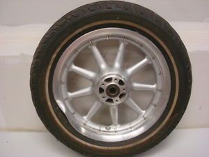 "Harley Davidson Touring Ultra Front Wheel 16""x3 w Tire 1"" Axle"