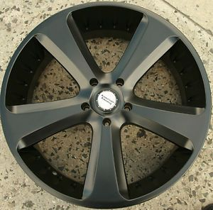 American Racing Circuit 24 x 9 5 s Black Rims Wheels Audi Q7 s Line Turbo 5H 30