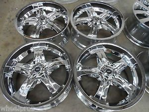 "20"" Chrome Verde 5x100 Scion XD TC Toyota Matrix Pontiac Vibe Stratus Wheels"