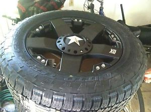 20 inch KMC XD Series Rockstar 775 Wheels Rims Tires