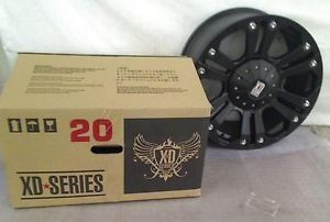"KMC Wheels XD Series Monster XD778 Matte Black Wheel 20x10"" 5x135mm"
