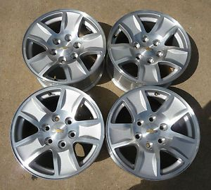 "New 2014 Chevy Avalanche Silverado Suburban Tahoe 17"" Alloy Wheels"