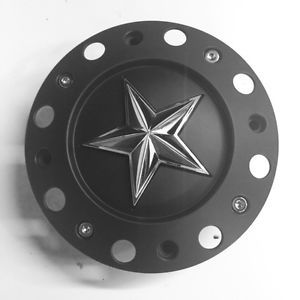 KMC XD Rockstar Wheel Center Cap Part 1000775B with Screws