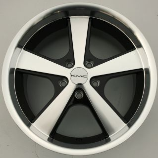 KMC Nova 18 x 9 0 Black Rims Wheels Optima Sorrento 5H 45