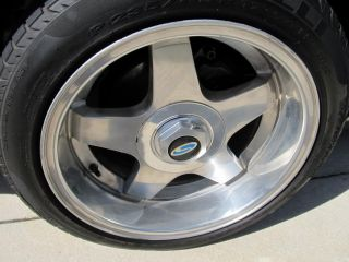 79 1993 Mustang Steeda Pentar Wheels Rims Tires ROH Rial 4 Lug RARE Saleen 17""