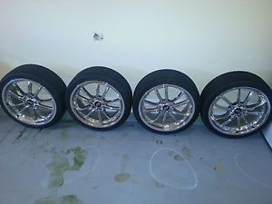 "20"" Chrome Wheels Rims Tires Sport Muscle Shift"