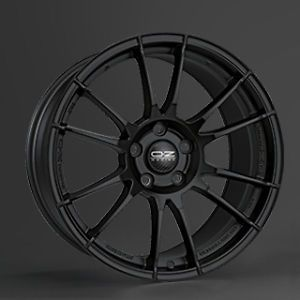 "18"" oz Ultraleggera Alloy Wheels Matt Black VW Golf MK5 MK6 MK7 Jetta Passat EOS"