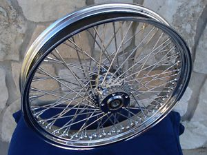 "21x3 5"" 60 Spoke Front Wheel Harley Ultra Road King Street Glide Touring 00 07"