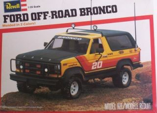 Ford Bronco 4x4 SUV Truck Off Road 1 25 Revell Vintage Model Kit