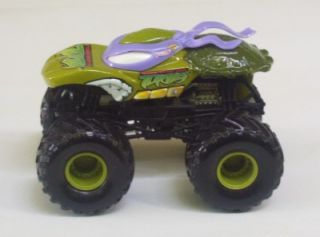 Ninja Turtles Small Tire Monster Jams Purple Hot Wheels