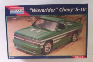 Waverider Custom Chevy S10 Truck Monogram 1 25 Kit Model Pickup Minitruck