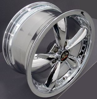"18"" Rim Fits Mustang® GT Bullitt Bullet Wheels Nexen 3000 ZR Tires Chrome"