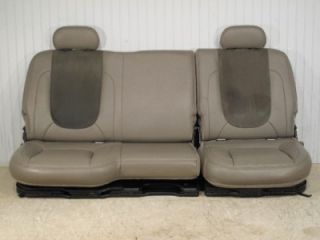 02 08 Dodge RAM Laramie SRT Truck Rear Leather Seats