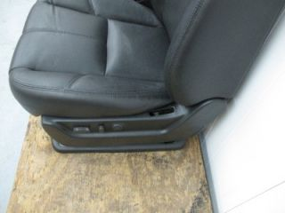 07 08 09 Chevy Silverado Truck Sierra Tahoe Black Leather Powerltz Bucket Seats