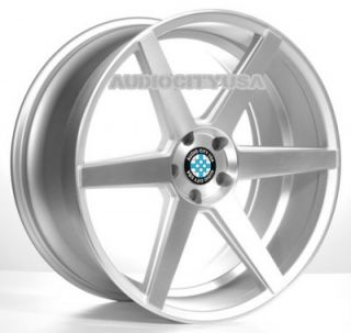 "22"" Z84 Silver for BMW Wheels and Tires Rims 5 6 7 Series 645 650 745 750 760"