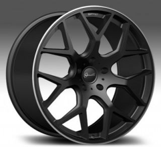 "22"" Giovanna Koko Puerto BK for Lexus Wheels and Tires Rims Infiniti LS Is ES"