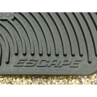 2011 2012 Escape Genuine Ford Parts Rubber All Weather Floor Mat Set 4 PC