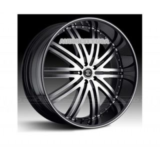 "22"" inch D1 BD Wheels and Tires Rims for 300C Charger Magnum Challenger"