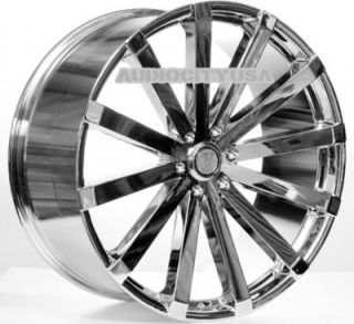 "22"" VW12 CH Concaved Wheels and Tires Rims for Chevy Tahoe Escalade Yukon RAM"