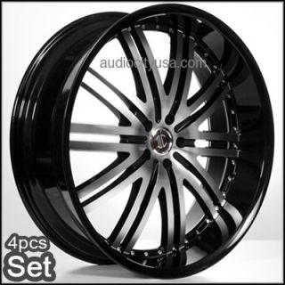 22inch Rims Wheels Chevy Ford RAM Tahoe Escalade