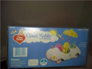 Care Bear Cloud Car New Figures 1980's 10 Pictures