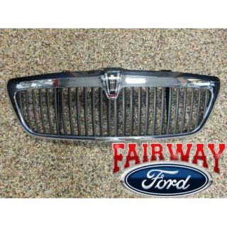 2003 2004 Lincoln Aviator Genuine Ford Parts Chrome Grill Grille w Emblem