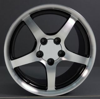 "17"" Corvette C5 Style Deep Dish Wheels Set Rims Fit Camaro"