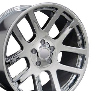 "22"" Chrome SRT Style Wheel 22x10 Rim Fits Dodge RAM Dakota Durango Aspen"