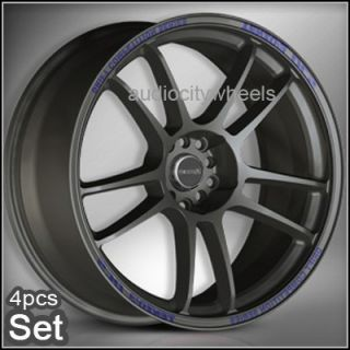 "18""Tenzo DC5 Wheels Rims Lexus Audi Scion EVO"