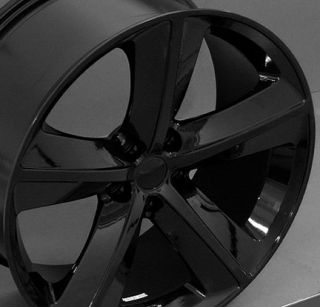 "20"" Rim Fits Dodge Challenger SRT Wheel Black 20x9"
