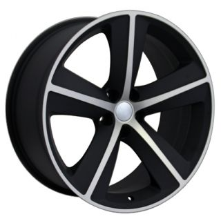 "20"" Matte Black Challenger SRT Wheel 20x9 Rim Fits Dodge Charger Magnum RT"