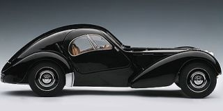 Autoart 70941 1 18 1938 Black Bugatti 57SC Atlantic Diecast Model Car