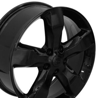 "20"" Jeep Grand Cherokee Black Overland Laredo Wheels Set of 4 9107 Rims"