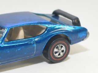 1969 Mattel Hot Wheels Olds 442 Redline Red Line Near Mint