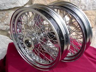 60 Spoke Wheel Set for Harley Road King Ultra 2003 07