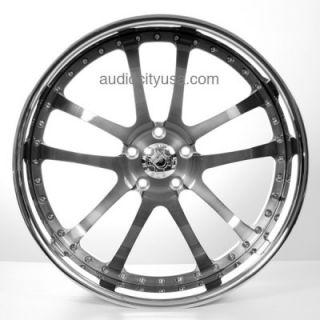 24 Forged 3pc AC 312 GM Wheels and Tires for Camaro Range Rover Mercedes Rims