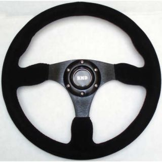 Rally Race Steering Wheel Flat Suede OMP Sparco Fit