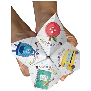 Creative Teaching Press Cootie Catchers Back To School