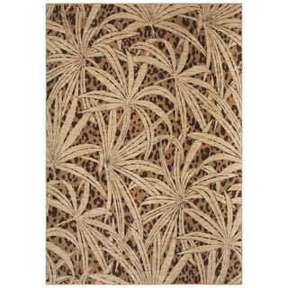 Tommy Bahama Home Rugs   Tossed Palm   Gold Tommy Bahama 3x5   4x6 Rugs