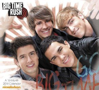Big Time Rush 2014 Calendar Meadwestvaco Englische Bücher